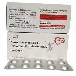Olmesartan Medoxomil And Hydrochlorothiazide Tablets I.p.