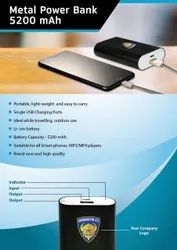 Metal Power Bank 10000 mAh