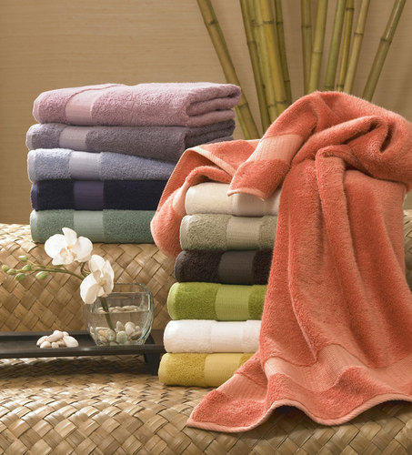 Cotton Plain King & Queen Terry Bath Towel