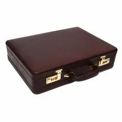 Hammonds Flycatcher Original Bombay Brown Leather expandable Briefcases