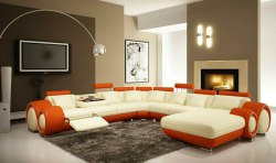 L Shape Living Room Sofa Set