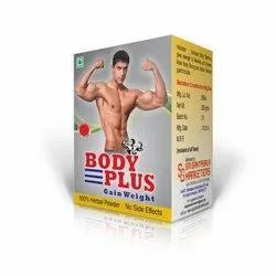 Sri Gantasala Marketers No Side Effects Body Plus Fitness Supplement, Packaging: Box, 200 Gms