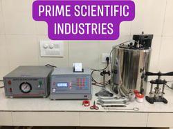 Microprocessor Bomb Calorimeter With Auto Gas Filling Facility