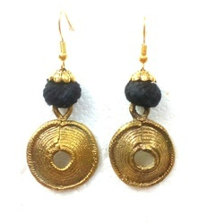 The Handicrafts Stores Handcrafted Dokra Earrings