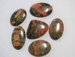 Unakite Stone Cabochons