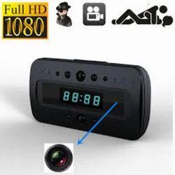 1080P Spy Alarm Clock IR Hidden Camera
