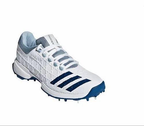 White Men Adidas SL22 Full Spike II