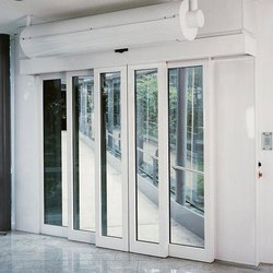 UPVC and Glass White Insulated Sliding Door, for Home, Hotels etc, Exterior