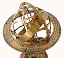Solid Brass Sphere Big Lion Armillary Globe 18 Four Lion Armillary Home & Office Decorative Gift