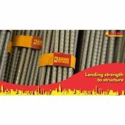 Mild Steel 8mm FE500D Agni TMT Bars, 12m
