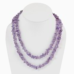 Semi Precious Amethyst Necklace 206