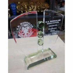 Glass Acrylic Trophy