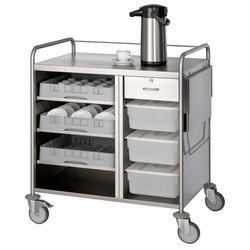SS Tea Snack Trolley