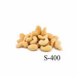 Platinum Nuts Zero Broken Intin Cashew Kernel S400, Packaging Size: 10 kg