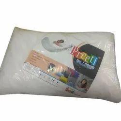 White Preeti Soft Pillow, Shape: Rectangular