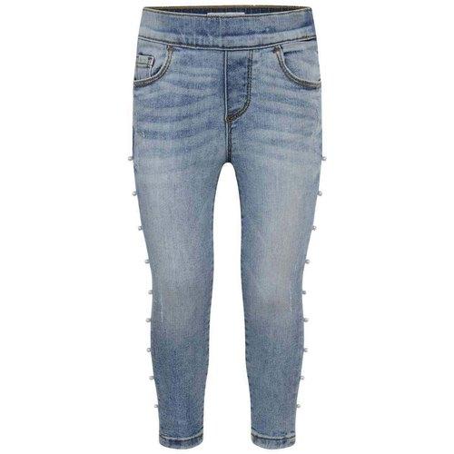Blue Ladies Casual Denim Jeans, Packaging Type: Packet