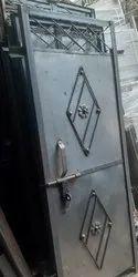 Iron Sheet Doors