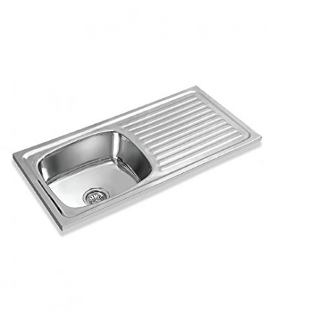 Apollo Kitchen Sink- Single Sink with Drain Board at Rs 2400 /piece ...