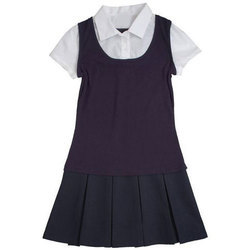 Cotton Girls School Uniform