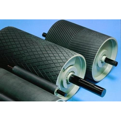 Mild Steel Conveyor Tail Pulley, Capacity: 2 ton