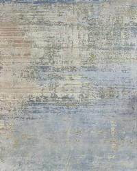 Udai Exports Blue Wool Silk Oxidized Rugs For Living Room