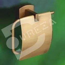 Brass Brown Paper Holder for Bathroom