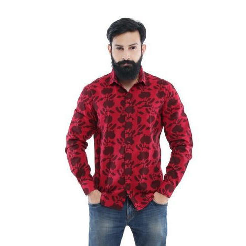 a558037dfb7f63 Phutro Men's Floral Print Shirt, Rs 799 /piece, Phutro Fashion ...