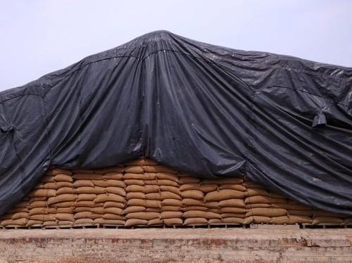 Fumigation And Food Grain CAP Storage Cover Made Out Of Polythene Sheet Conforming To BIS:2508:2016