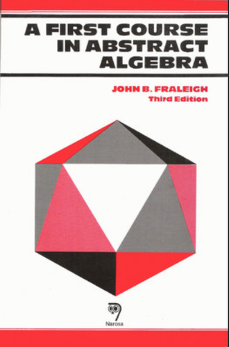 A First Course In Abstract Algebra Book