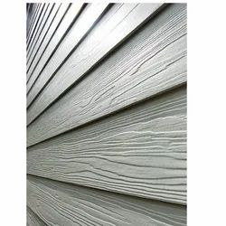 White 10 Feet Rectangular Side Walls Decorations Cement Plank 8 Mm, For Residential, Vishaka Industries LTD