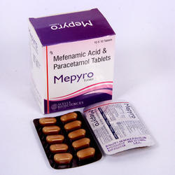 Mefenamic Acid 250 Paracetamol 325 Mg Tablets