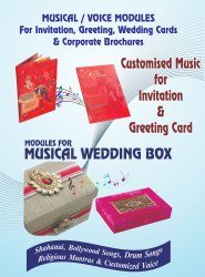Happy Birthday Voice Musical Greeting Card Module
