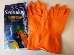 Rubber Sensuous Handgloves