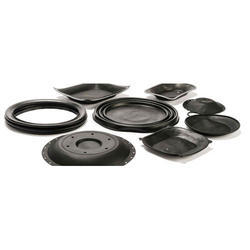 Black Rubber Diaphragms