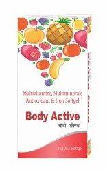 Bodyactive Multivitamins, Multimineral, Antioxidant & Iron Softgel Capsules, Body Active, Prescription