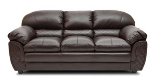 Mirage Brown Three Seater Sofa Hometown Supplier In Cp 8 Sector