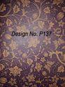 Non Woven Metallic Printed Fabric P137