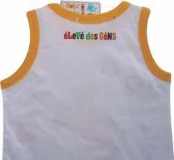 Single Jersey Baby Vest