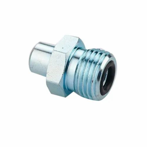 Stainless Steel ORFS Hydraulic Adapter, For Hydraulic Fittings