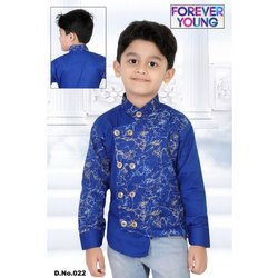 2-10 Years Printed Boys Stylish Shirt
