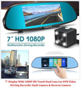 DVR Video Driving Recorder Dash Camera & Reverse Camera