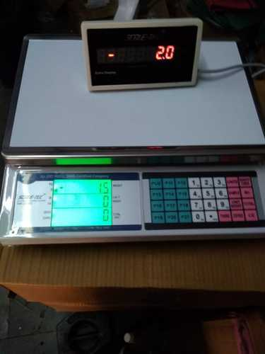 PCS Counting Silver Scale 30Kg X 500Mg