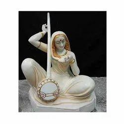 White Meera Statue
