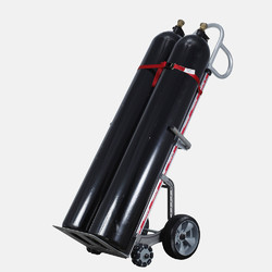 Double Gas Cylinder Cart