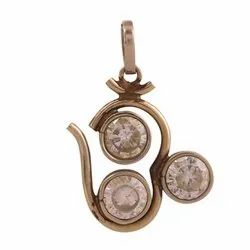 Three A.D. Om Locket Pendant