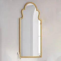 Designer Brass Mirror