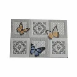 Ceramic Printed Kitchen Wall Tile, Size: 300 x 600 mm, Thickness: 8 mm