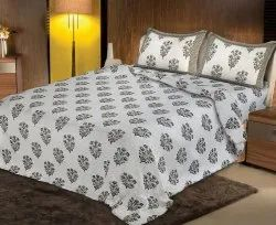 Cotton Printed Bedsheets for Double Bed