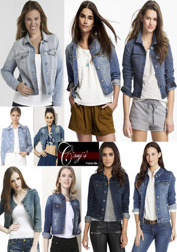698c0493a40 Ladies Denim Jackets at Rs 200  piece