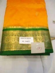 Kanjiwaram Pure Silk Saree P
